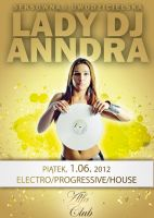 Lady DJ Anndra Presents House vs Electro